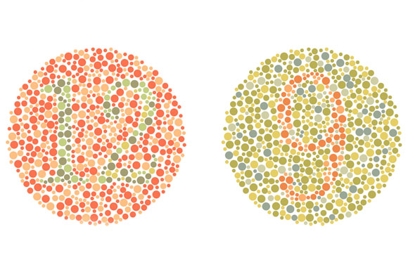 Colour blindness Testing